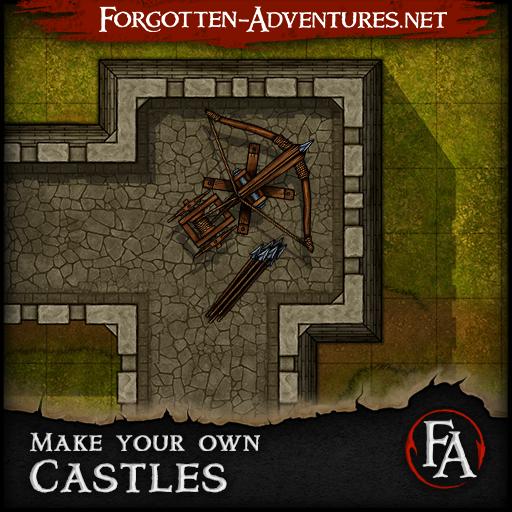 Make your own Castles, Tile set pack