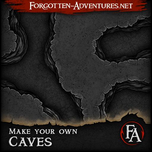 Make your own Caves Revised, Tile Set Pack