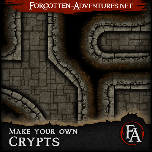 Make your own Crypts, Tile Set Pack