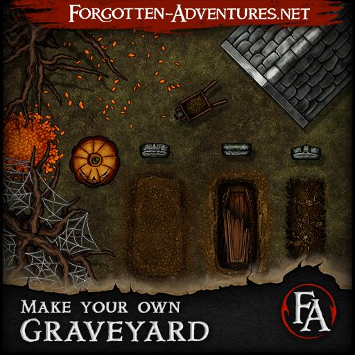 Make your own Graveyards, Asset Pack