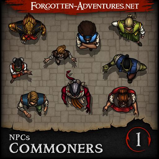 NPCs - Commoners - Pack 1