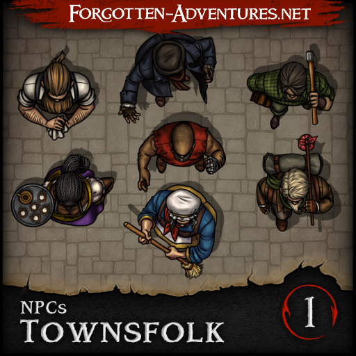 NPCs - Townsfolk - Pack 1