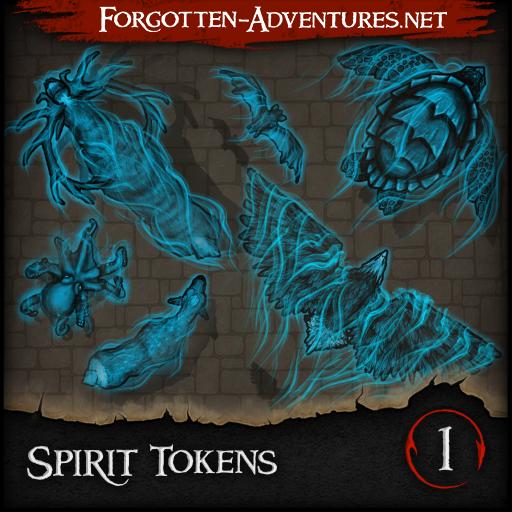 Spirit Tokens - Pack 1
