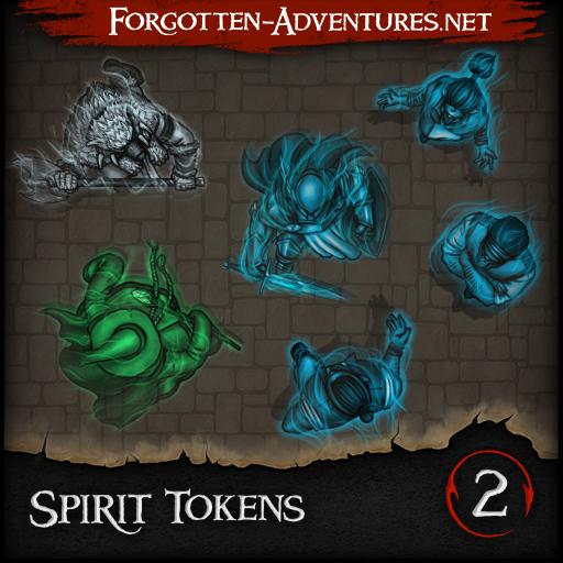 Spirit Tokens - Pack 2