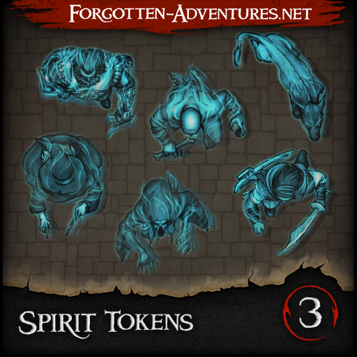 Spirit Tokens - Pack 3