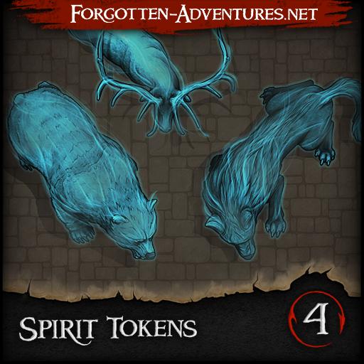 Spirit Tokens - Pack 4
