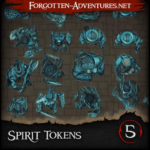 Spirit Tokens - Pack 5