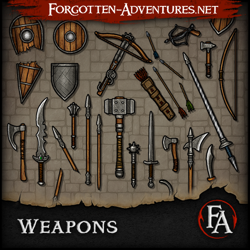 Weapons - Pack 1