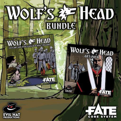 Wolf's Head: World and Art Bundle