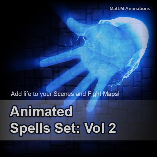 Animated Spells Set: Vol 2
