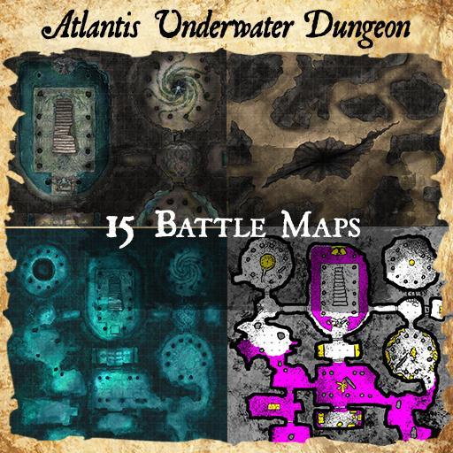 Atlantis Dungeon