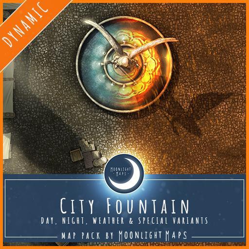 Dynamic   City Fountain