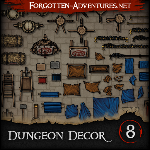 Dungeon Decor - Pack 8
