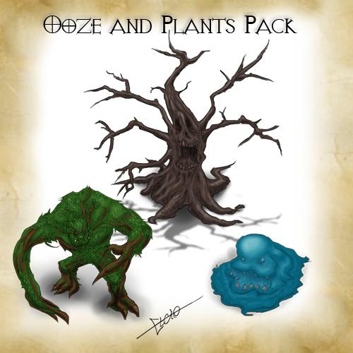 Ooze and Plants Pack