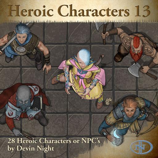 82 - Heroic Characters 13