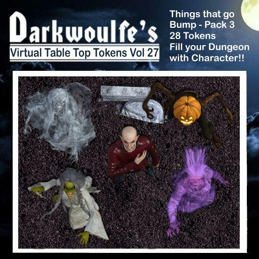Darkwoulfe's Token Pack Vol27 - Things That Go Bump 3