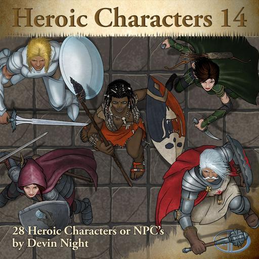 83 - Heroic Characters 14