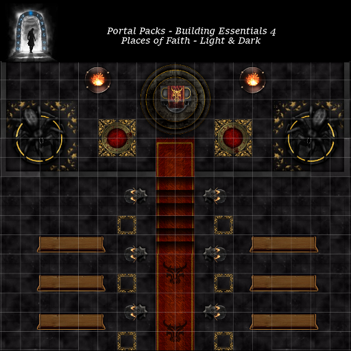 Portal Packs - Building Essentials 4 - Places of Faith - Light & Dark