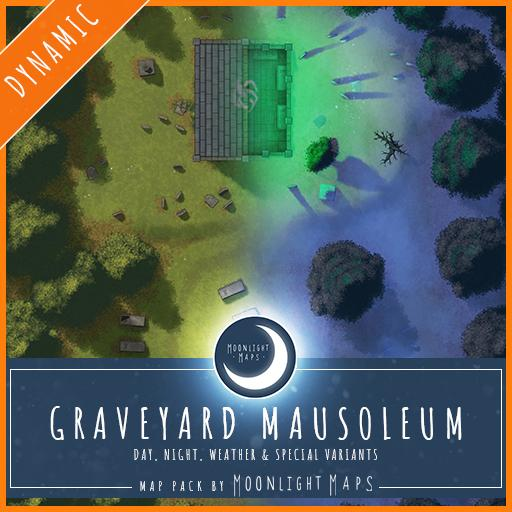 Dynamic   Graveyard Mausoleum