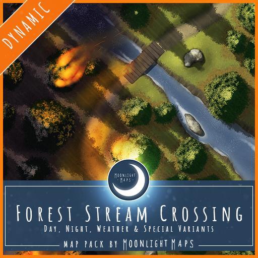 Dynamic   Forest Stream Crossing