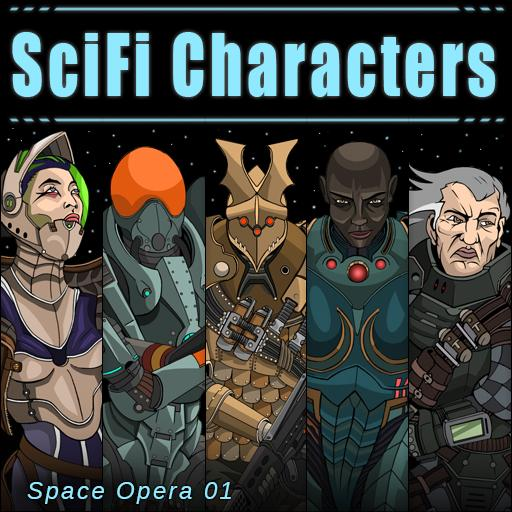 SciFi Characters 01