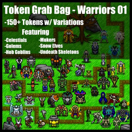 Token Grab Bag - Warriors 1