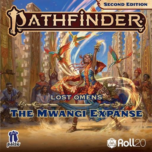 Pathfinder Lost Omens: The Mwangi Expanse Player Art Pack