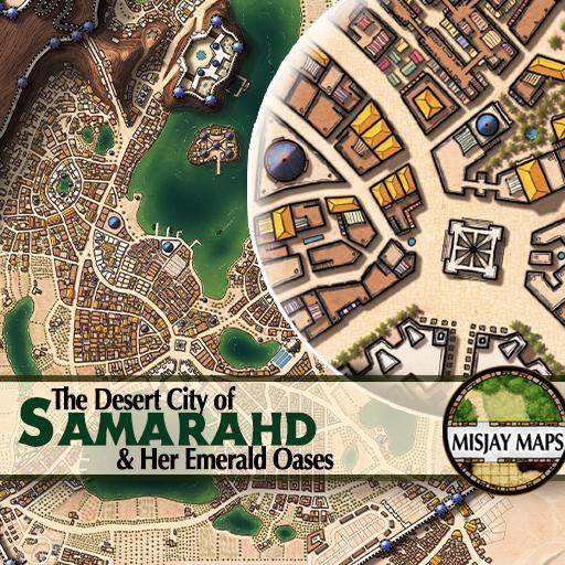 City Map_Samarahd