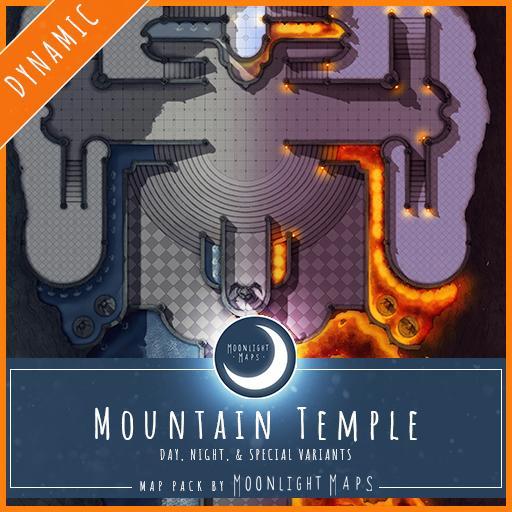 Dynamic   Mountain Temple