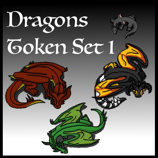 Dragons Token Set 1