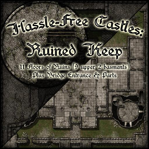 Hassle-Free Castles: Ruined Keep
