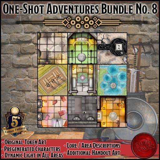 One-Shot Adventures Bundle No. 8