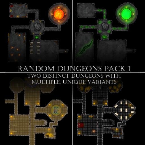 Random Dungeons Pack 1