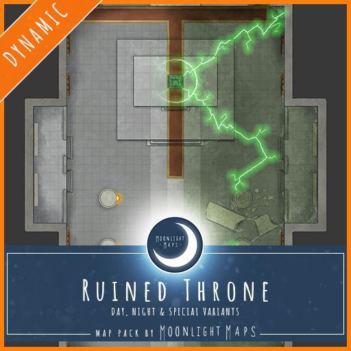 Dynamic   Ruined Throne