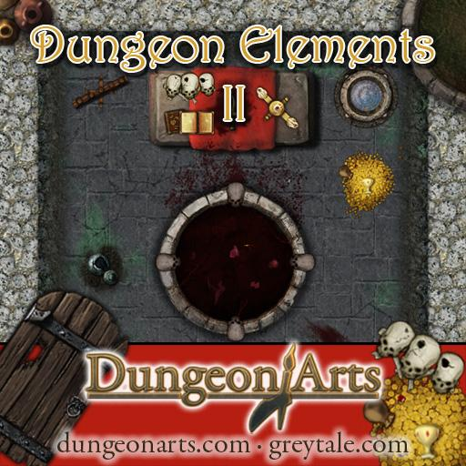 Greytale's Dungeon Elements Pack 2