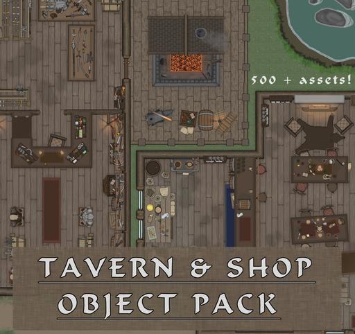 MF - Taverns & Shops Object pack
