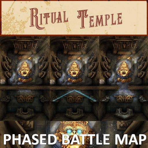 Ritual Temple Phased Battle Map