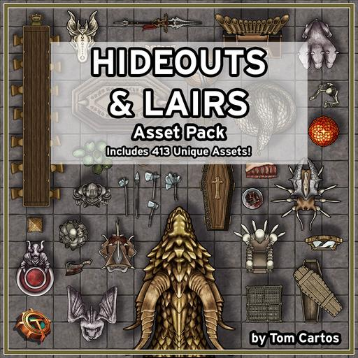 Hideouts & Lairs Asset Pack