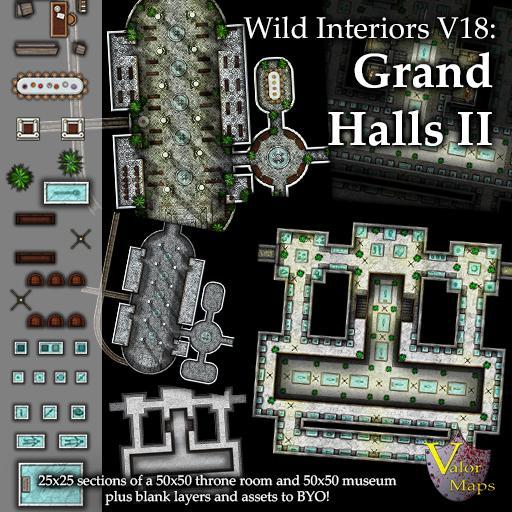 Wild Interiors V18: Grand Halls II