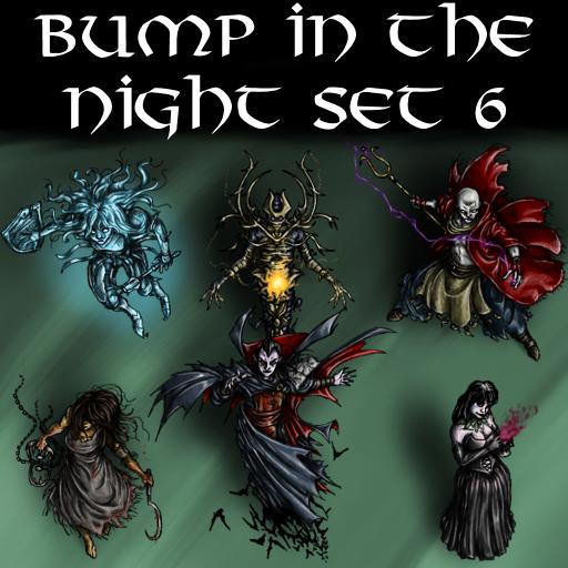 Bump in the Night Set 6
