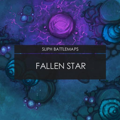 Fallen Star   Battlemap