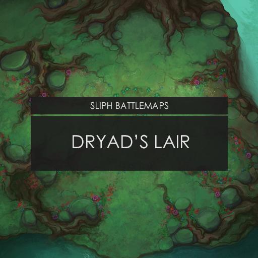 Dryad's Lair   Battlemap