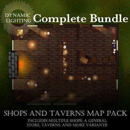 Shops and Taverns Bundle