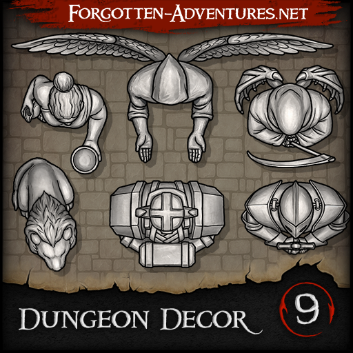 Dungeon Decor - Pack 9