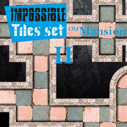 Impossible Tiles Set: Old Mansion 2