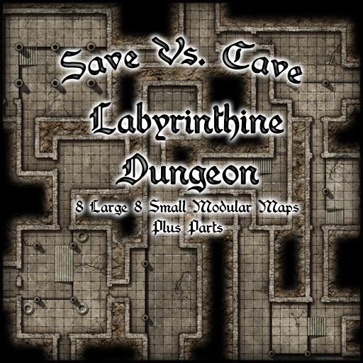 Save Vs. Cave Labyrinthine Dungeon
