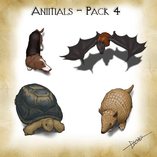 Animals - Pack 4