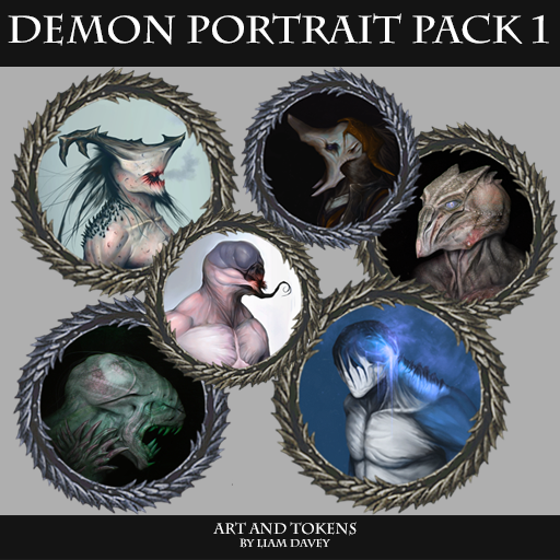 Demon Portrait Pack 1