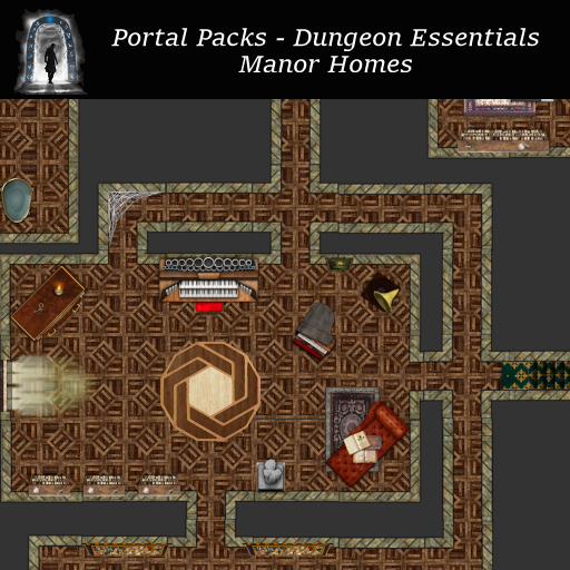 Portal Packs - Dungeon Essentials - Manor Homes