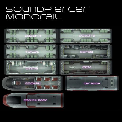 Soundpiercer Modular Monorail
